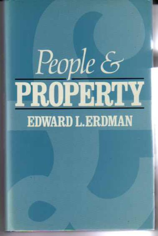 Image for People and Property (SIGNED COPY)
