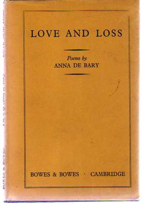 Image for Love and Loss : Or Remembering By Night