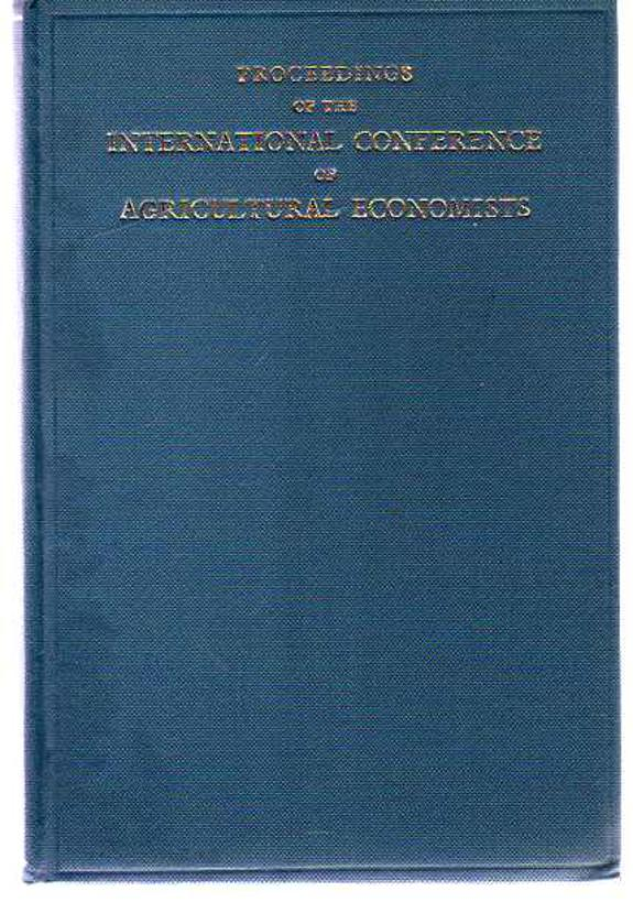 Image for Proceedings of the Eleventh International Conference of Agricultural Economists