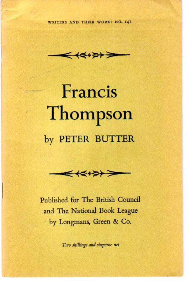 Image for Francis Thompson