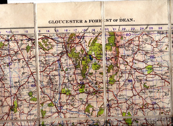 Image for Ordnance Survey Popular Edition  One-Inch Map Sheet 92 Gloucester and the Forest of Dean War Revision 1940