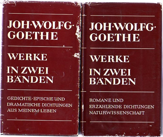 Image for Goethe's Werke in Zwei Banden (two volumes)