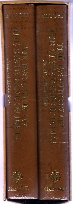 Image for The Evolution of the State Bank of India : Two Volumes ( in Slipcase )