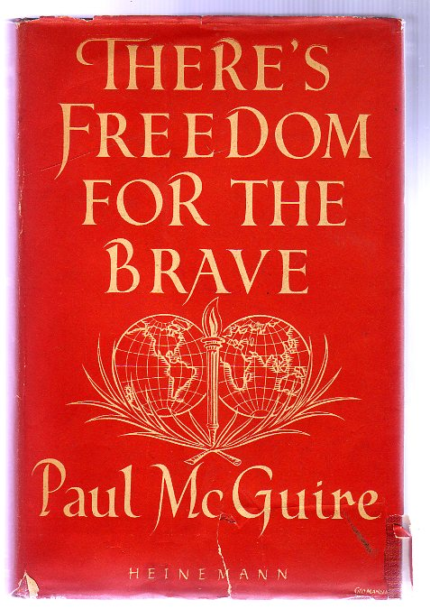 Image for There's Freedom for the Brave : An Approach to World Order