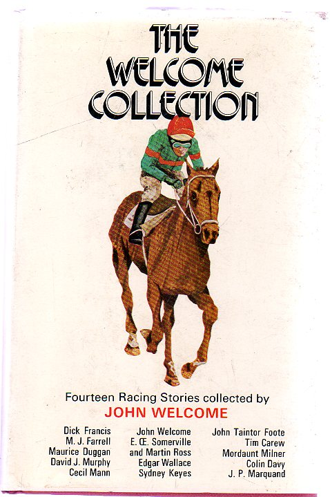 Image for The Welcome Collection : Fourteen Racing Stories