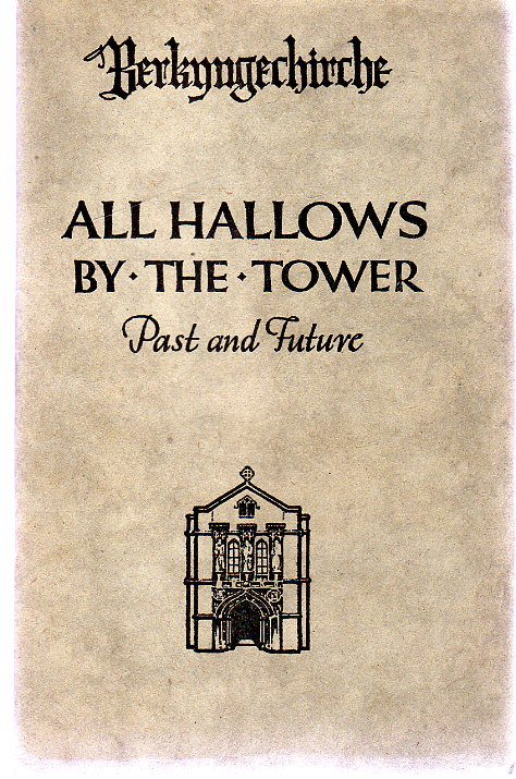Image for Berkyngechirche All Hallows by the Tower