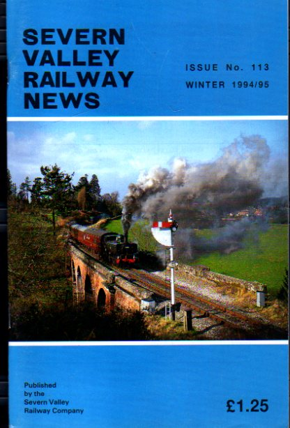 Image for Severn Valley Railway News Issue No 113 Winter 1994/95