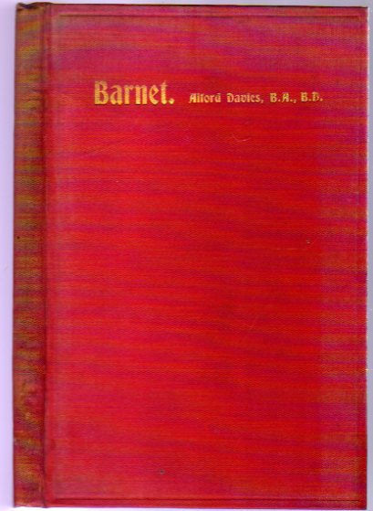 Image for Barnet and Its Personalities or its Associations with Literature & Life