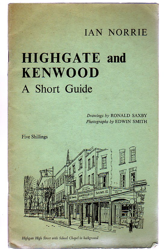 Image for Highgate and Kenwood - a Short Guide