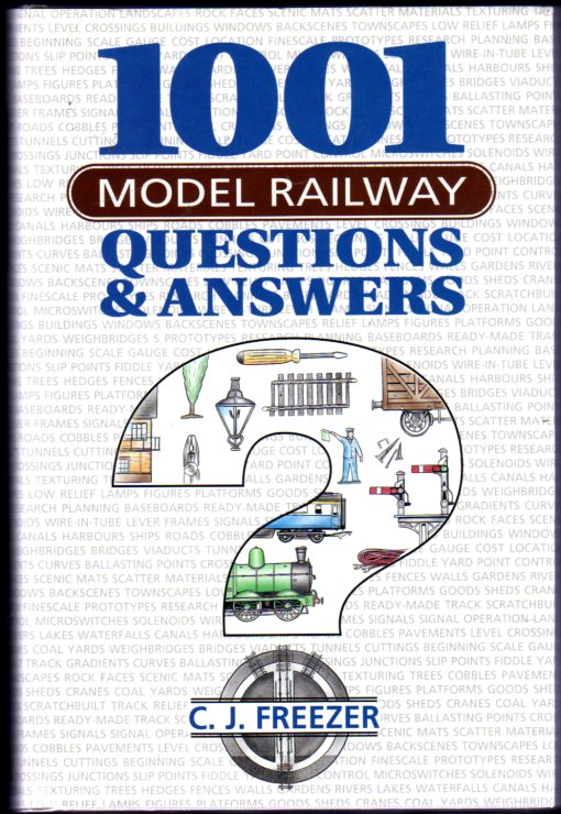 Image for 1001 Model Railway Questions and Answers