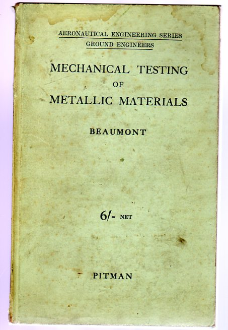 Image for Mechanical Testing of Metallic Materials with Special Reference to Proof Stress