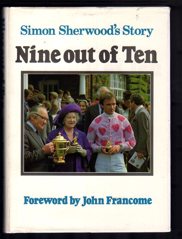 Image for Nine Out of Ten : Simon Sherwood's Story