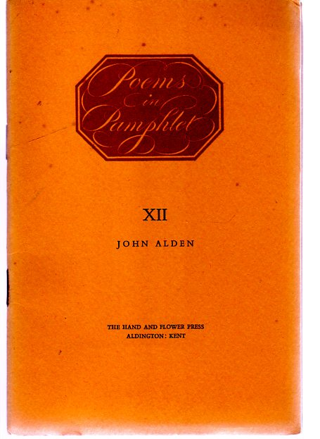 Image for Poems in Pamphlet - XII - The Crossways