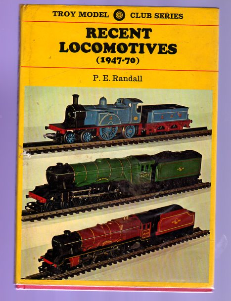 Image for Recent Locomotives (1947-70)