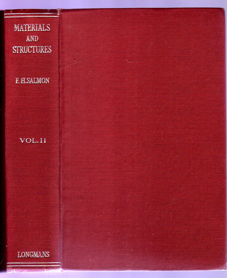 Image for Materials and Structures : Volume II - The Theory and Design of Structures