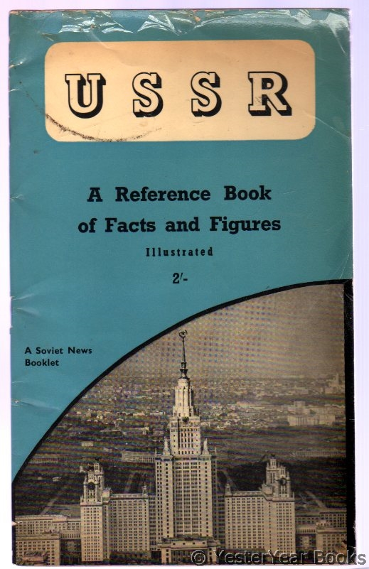 Image for U.S.S.R. : A Reference Book of Facts and Figures Illustrated
