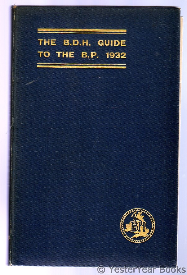 Image for The B.D.H. Guide to the B.P. 1932