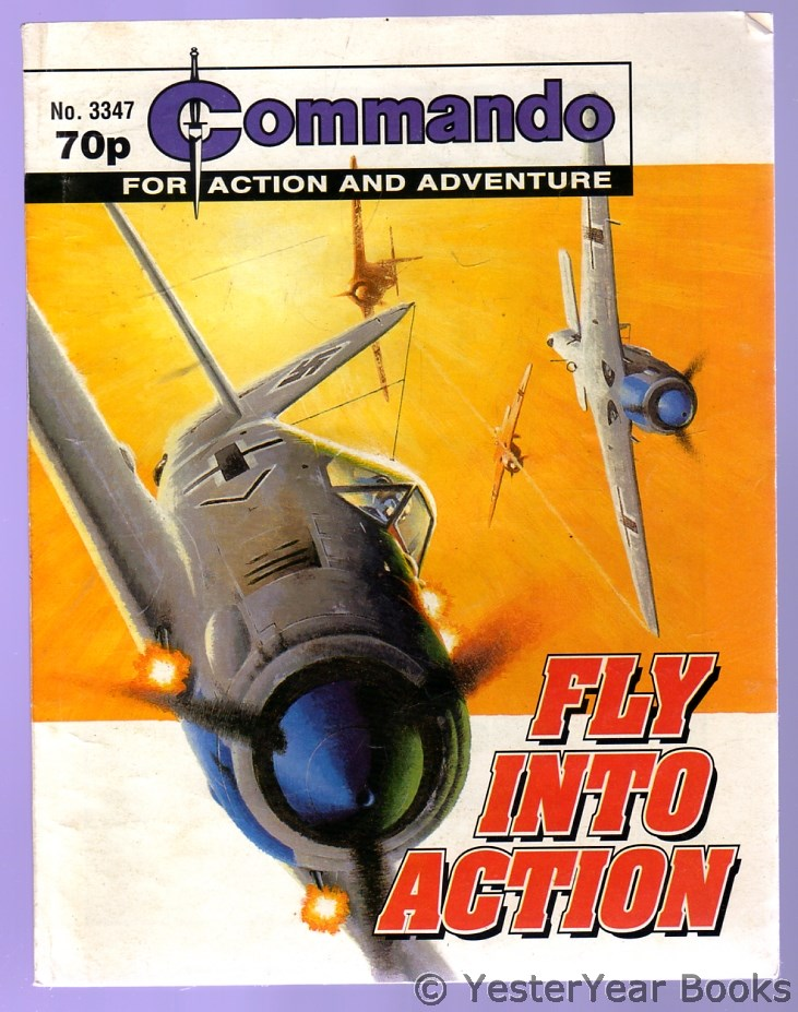 Image for Commando for Action and Adventure : Fly Into Action