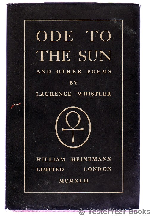 Image for Ode To The Sun And Other Poems (SIGNED)