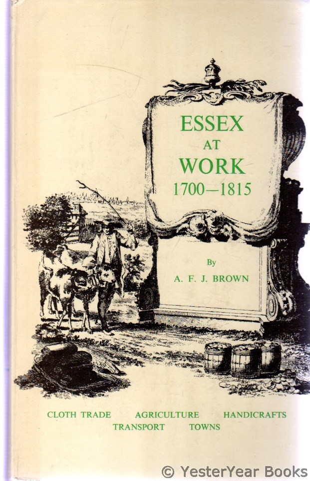 Image for Essex at Work : 1700-1815
