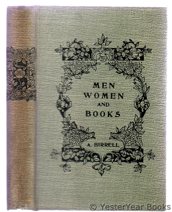 Image for Essays About Men, Women, and Books