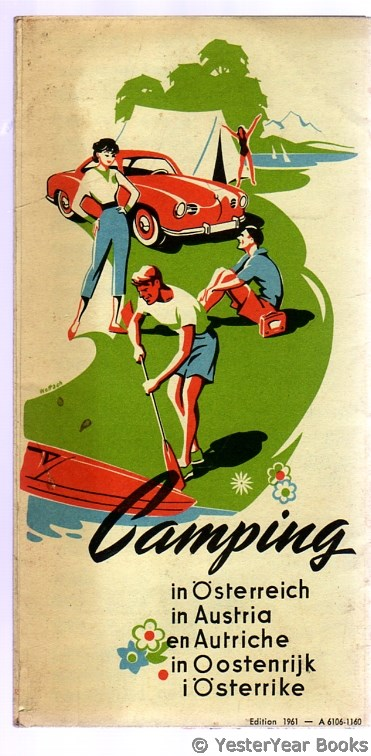 Image for Camping in Austria - Map