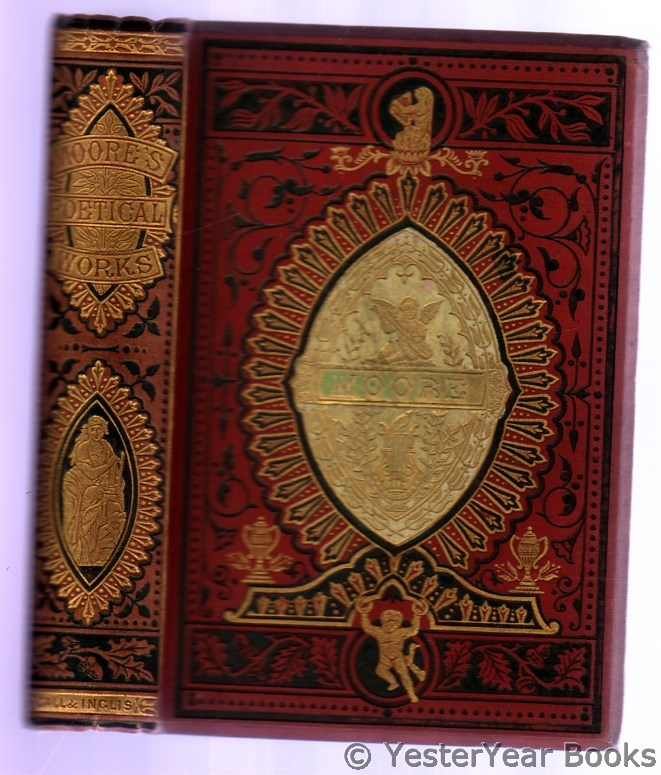 Image for The Poetical Works of Thomas Moore with Life