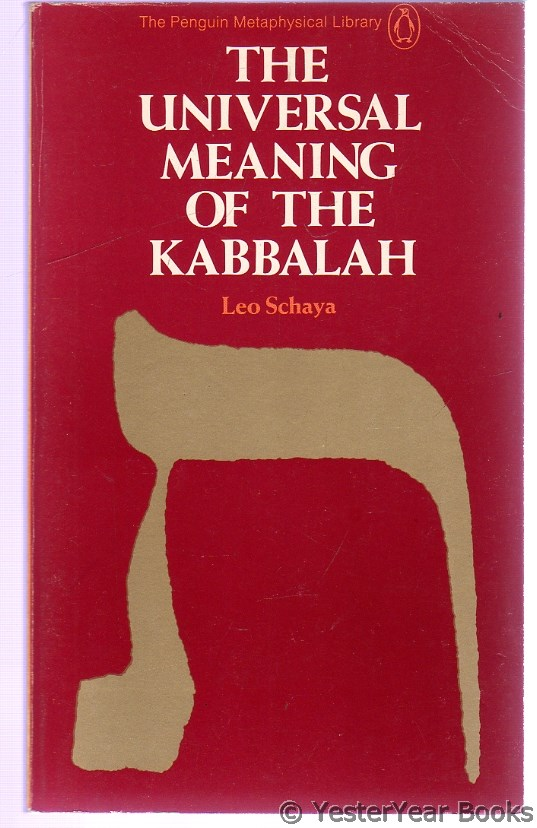 Image for The Universal Meaning of the Kabbalah