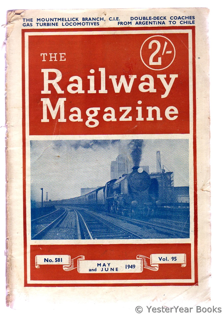 Image for The Railway Magazine May and June 1949 Vol 95