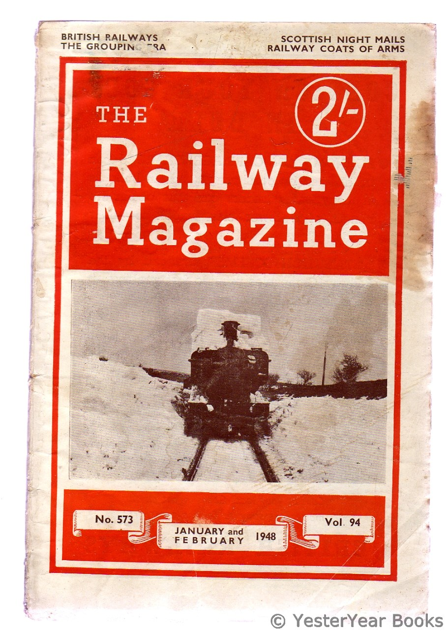 Image for The Railway Magazine January and Februrary 1948
