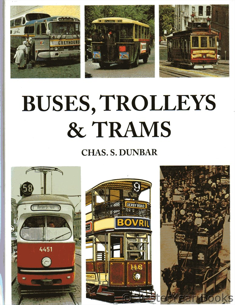 Image for Buses, Trolleys and Trams