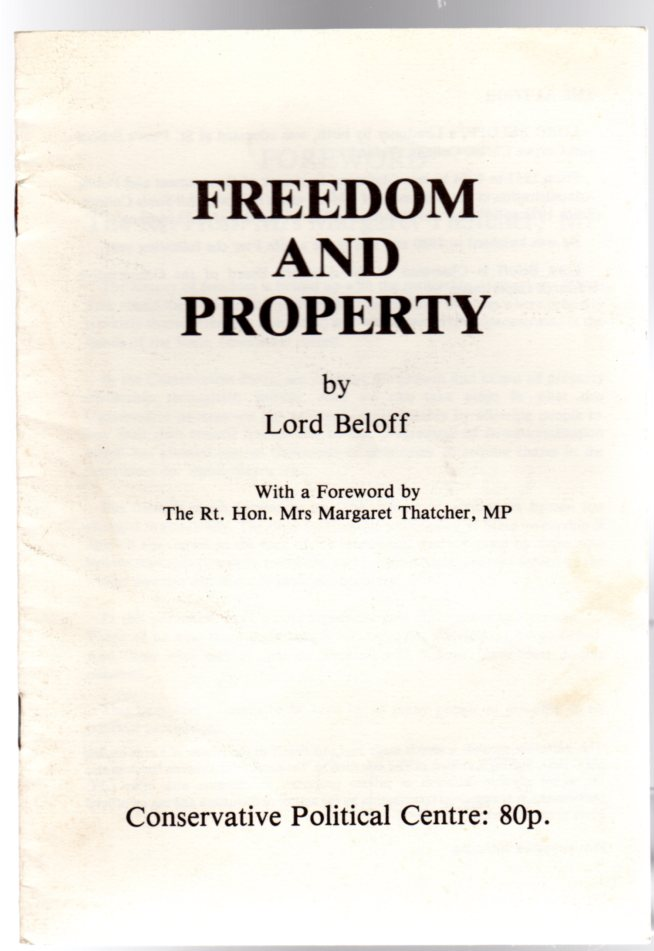 Image for Freedom and Property