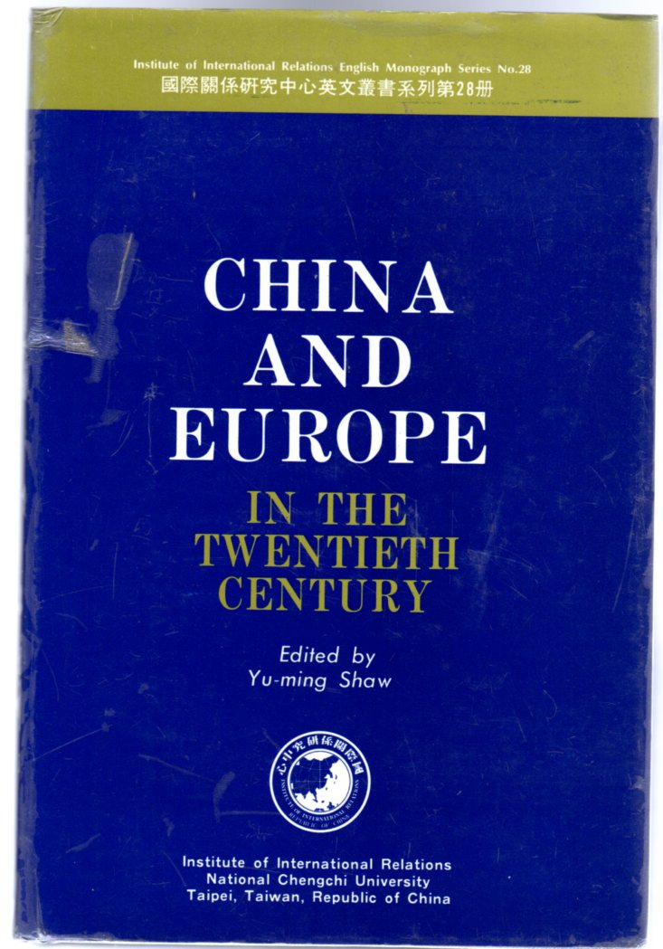 Image for China and Europe in the Twentieth Century
