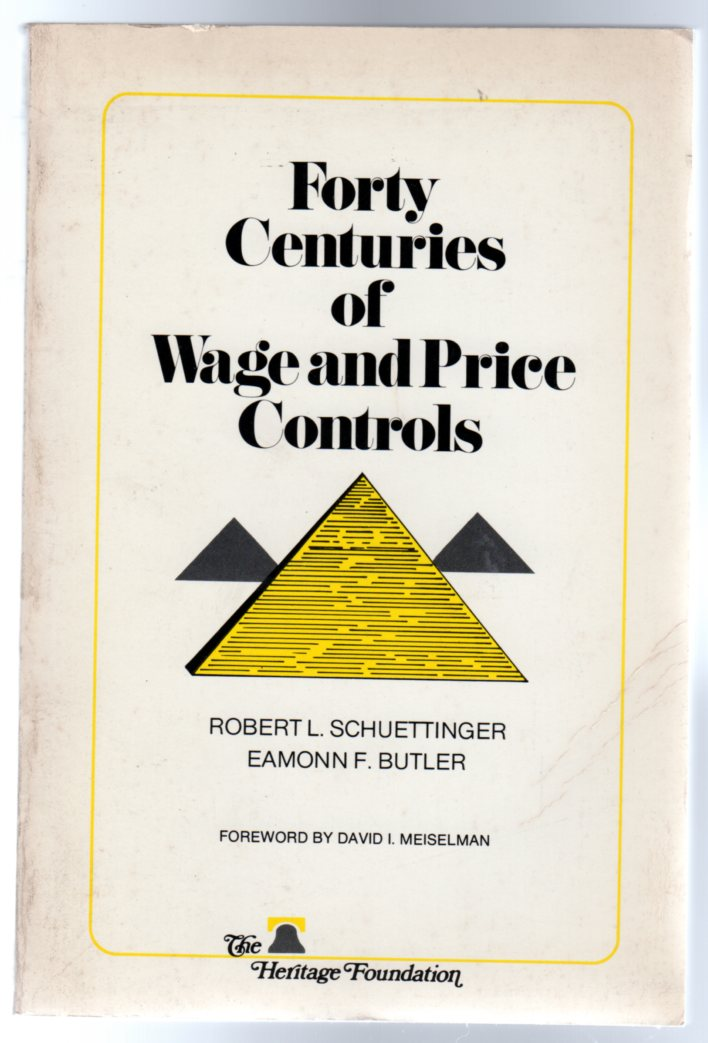 Image for Forty Centuries of Wage and Price Controls: How Not Fight Inflation