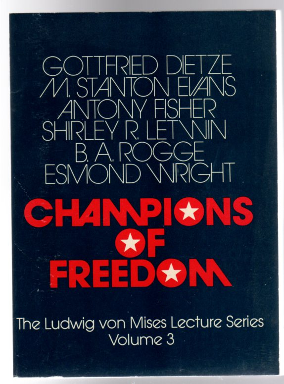 Image for Champions of Freedom : Volume 3