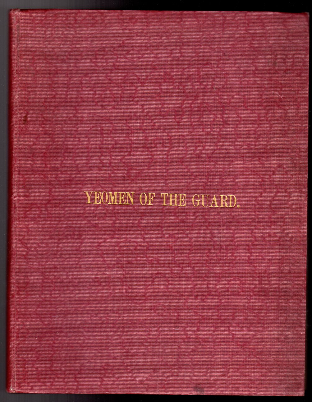 Image for Vocal Score of the Yeomen of the Guard - or, The Merryman and His Maid