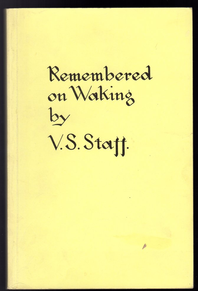 Image for Remembered on Waking : Concerning Psychic and Spiritual Dreams and Theories of Dreaming