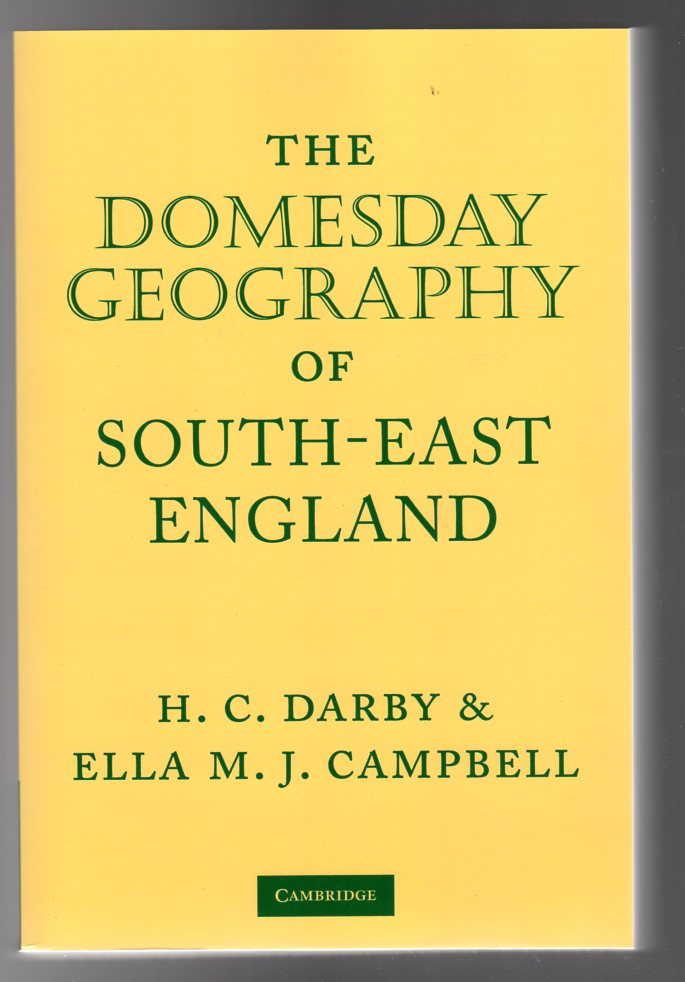Image for The Domesday Geography of South-East England