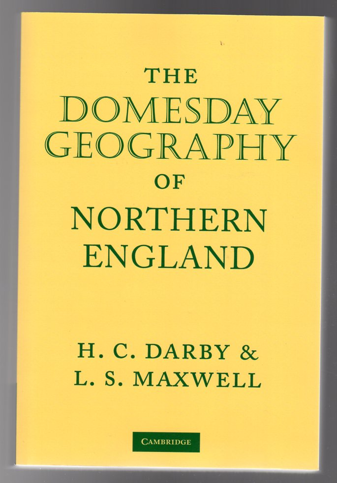 Image for The Domesday Geography of Northern England
