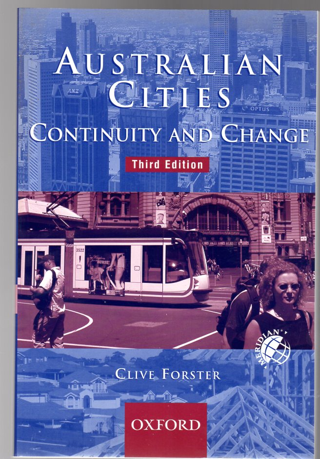 Image for Australian Cities : Continuity and Change