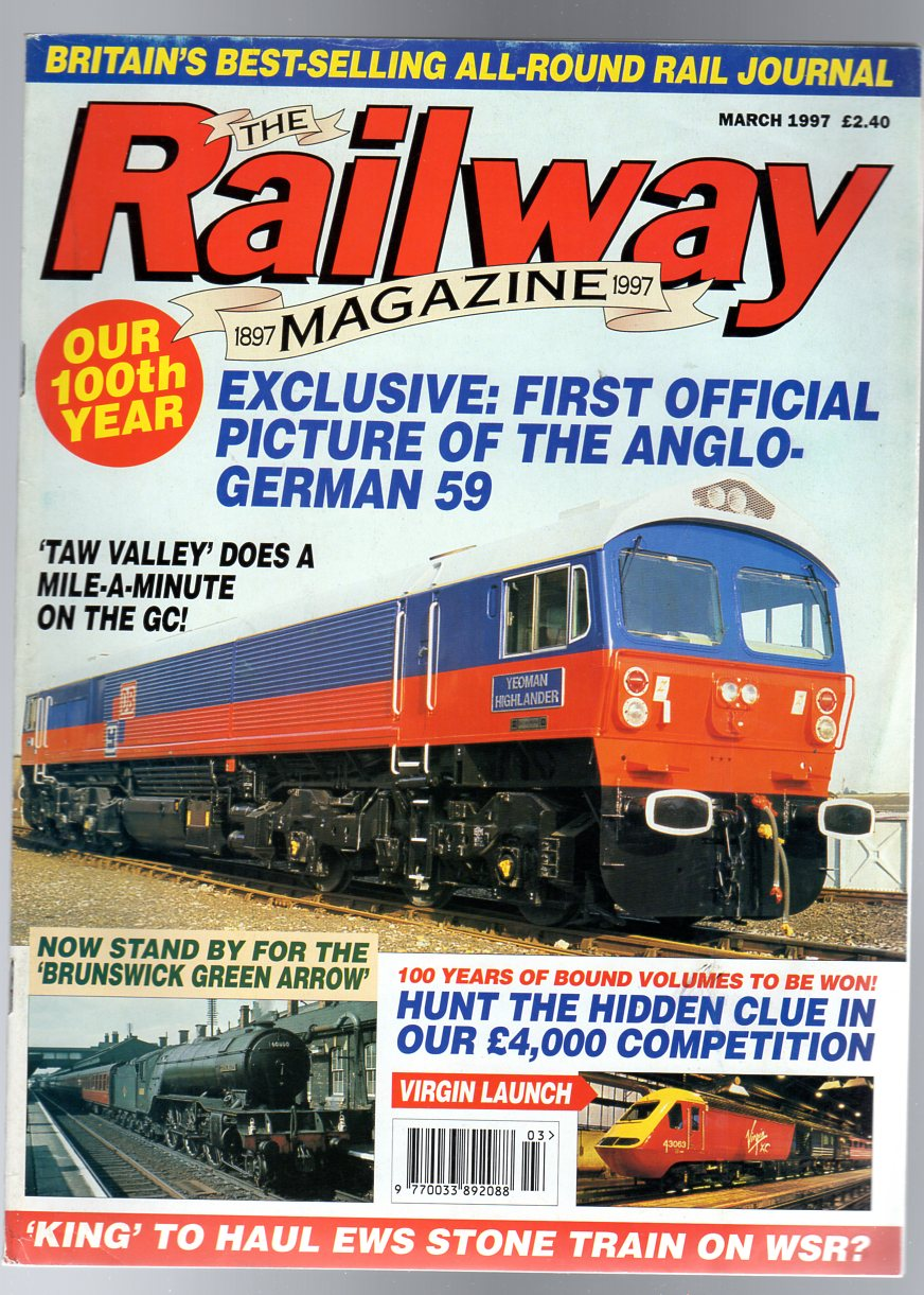Image for The Railway Magazine March  1997