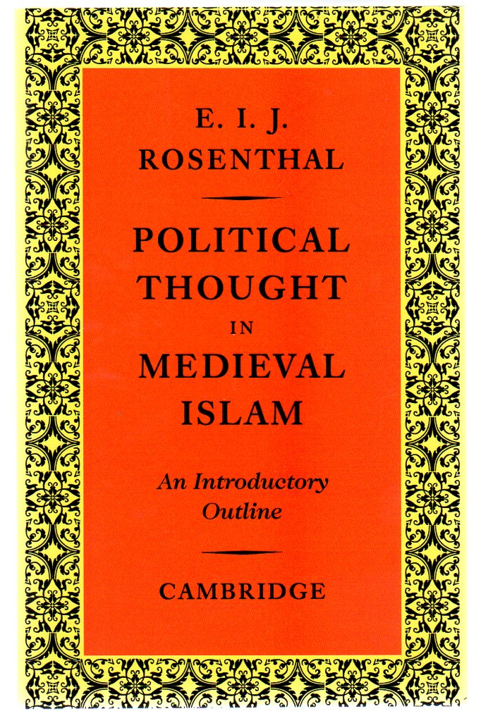 Image for Political Thought in Medieval Islam : An Introductory Outline