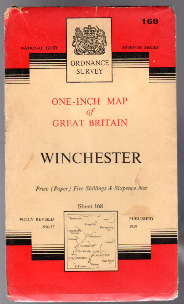 Image for Ordnance Survey  One-Inch Map of Great Britain -  Winchester - Sheet 168