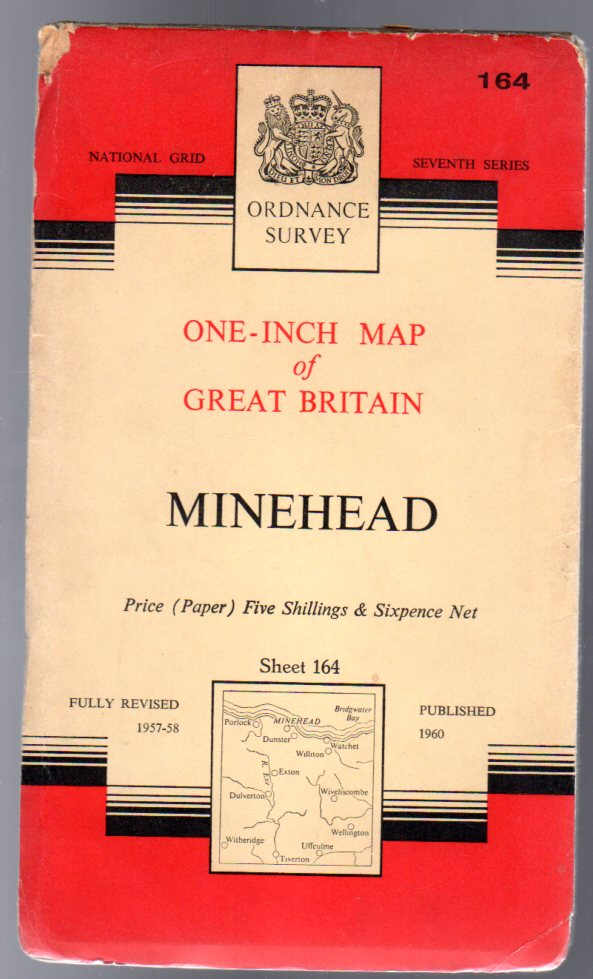 Image for Ordnance Survey  One-Inch Map of Great Britain -  Minehead - Sheet 164