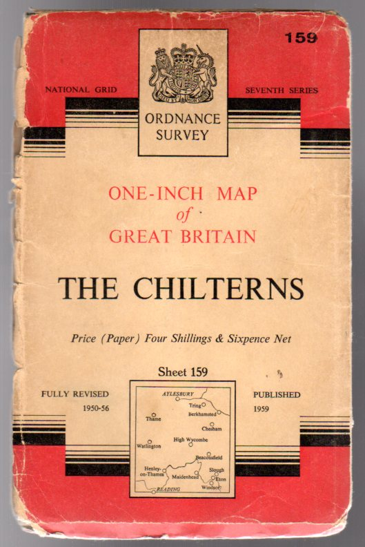 Image for Ordnance Survey  One-Inch Map of Great Britain - Sheet  159 The Chilterns