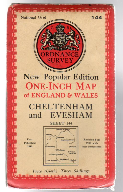 Image for Ordnance Survey New Popular Edition One-Inch Map of England & Wales Sheet 44 Cheltenham and Evesham