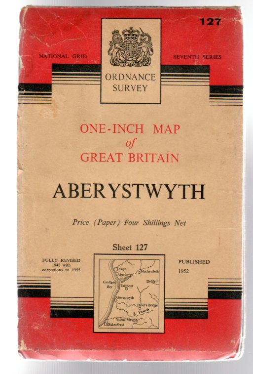 Image for Ordnance Survey  One-Inch Map of Great Britain Sheet  127 Aberystwyth
