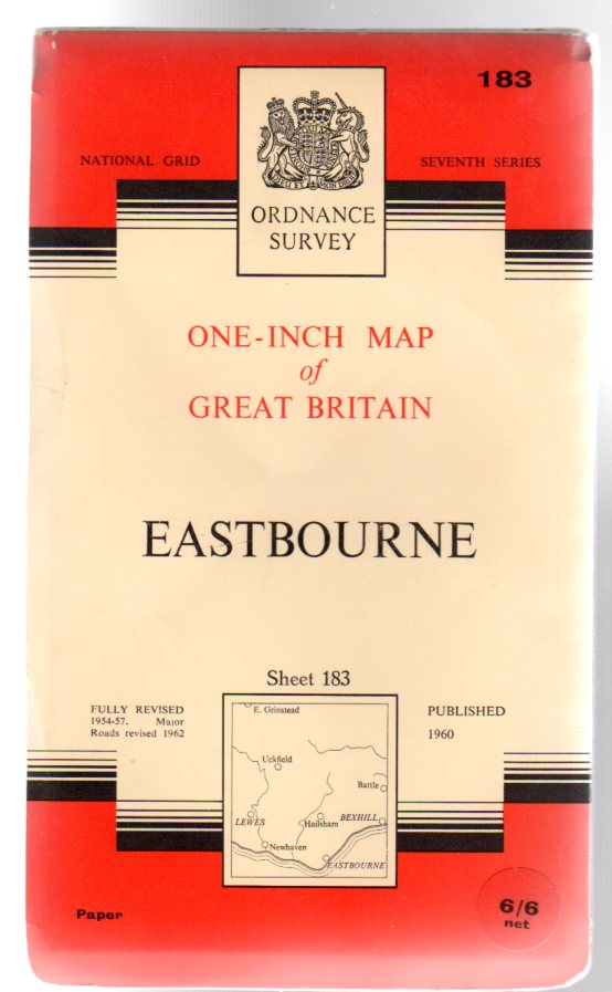 Image for Ordnance Survey  One-Inch Map of Great Britain - Sheet 183 Eastbourne