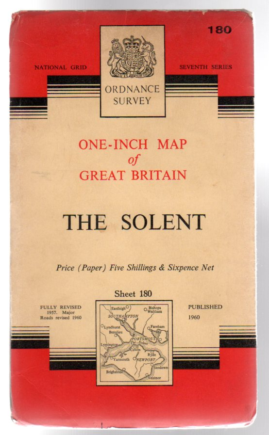 Image for Ordnance Survey  One-Inch Map of Great Britain Sheet 180 the Solent