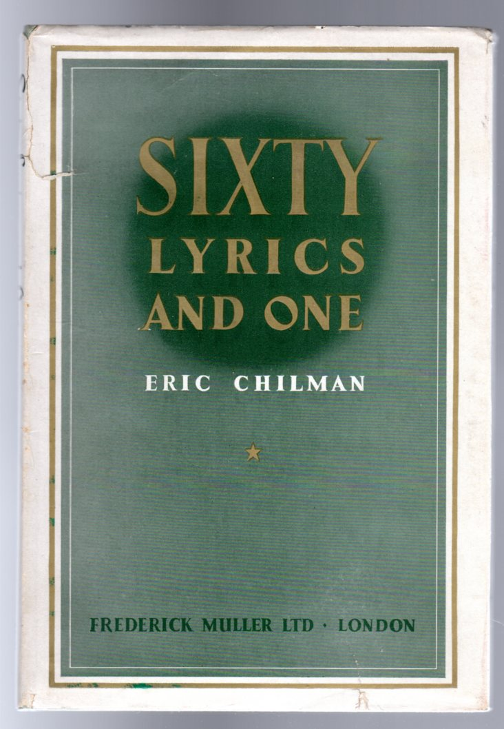 Image for Sixty Lyrics and One - SIGNED COPY